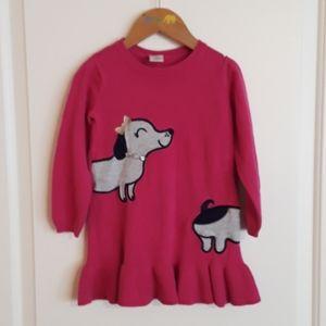 Gymboree girls sweater dress